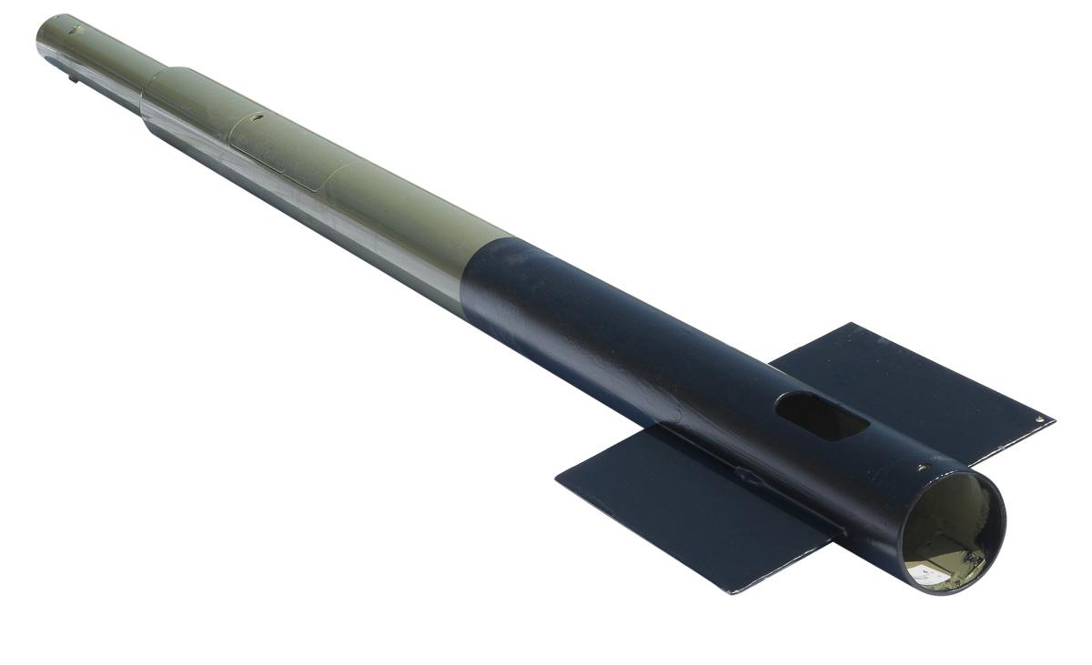 027005 Mast 12m Toptrek 7,5 kN met deur