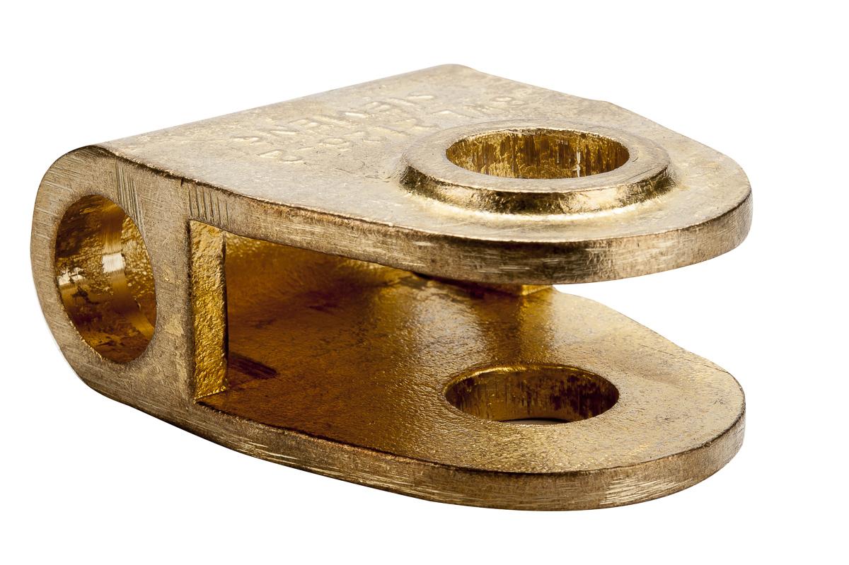 027034 Scharnierdeel met vork 19mm L=42